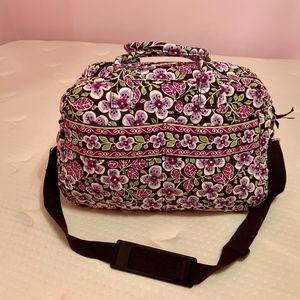 MINT Vera Bradley Weekender Travel Bag Tote